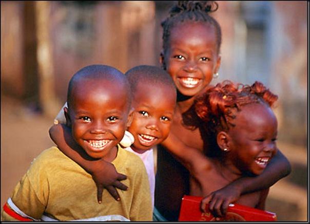 niños africanos